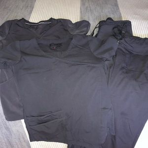 2sets of Gray scrubs XS